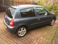 RENAULT CLIO ONLY 38000 GENUINE MILES