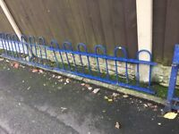 Quality Bow Tow Railings / Wall Toppers / Steel Fencing 20ft In Total call for info