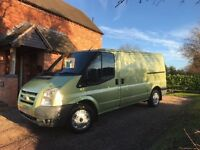 FORD TRANSIT LATE 2006 ONWARDS WANTED (METALLIC PAINT) HAMPSHIRE AREAS