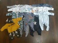 Brand new or worn once!! NEXT plus other brands bundle of boys newborn (up to 7.8lbs)