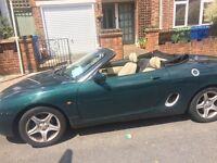 MG MGF 1.8L 2 door convertible sports car