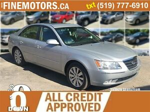 2010 HYUNDAI SONATA GL LIMITED EDITION * LEATHER * POWER ROOF