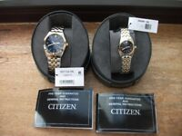 Matching His and Hers Watches (brand New) never worn (Ideal Gift)