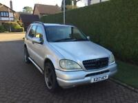 2000 Mercedes Benz M Class 3,2 litre Automatic FSH 2 owners