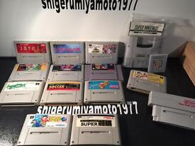 Super Nintendo games and converter