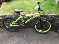 Muddyfox Cannibal child's BMX bike 7/9yrs