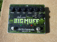 electro harmonix big muff deluxe pi distortion bass or guitar