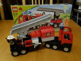 Lego Duplo fire engine