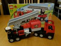 Lego Duplo fire engine