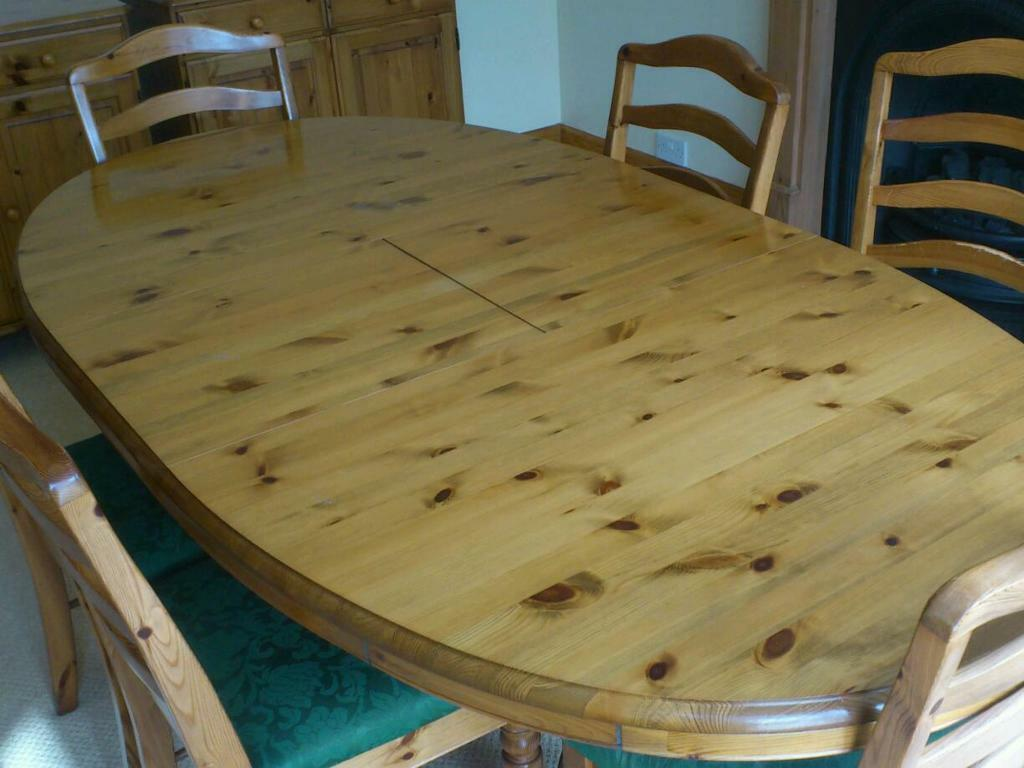 DUCAL VICTORIA PINE EXTENDING DINING TABLE AND 6 CHAIRS  : 86 from www.gumtree.com size 1024 x 768 jpeg 74kB