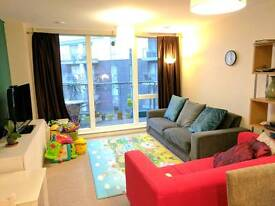 2 bed flat parking and balcony