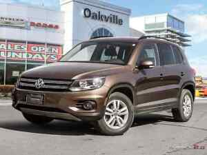 2015 Volkswagen Tiguan TRENDLINE | AWD | HEATED SEATS | ALLOYS |
