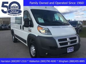 2014 Ram ProMaster 2500 High Roof | Local Trade | Divider Wall