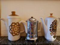 Vintage coffee pots- job lot
