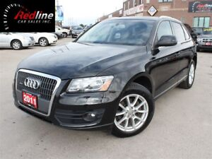 2011 Audi Q5 2.0T Premium Plus Nav-Camera-Pano Roof