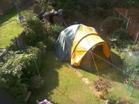 Pro action family 4 berth tent