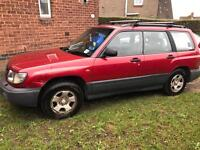 Subaru forrester 2.0 petrol none turbo-4x4- 12 months mot-fsh-1 owner from new- CHEAP!