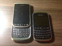 Blackberry torch 9810 and curve 9320