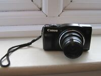 canon powershot SX 700 HS camera black boxed
