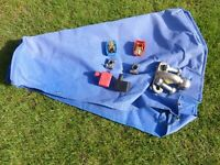 For Sale Caravan hitch cover, tow ball and battery connectors