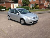Vw Golf mk5 2.0GT-TDI 140bhp 2005/05 99k miles FSH/9stamps New Cam-belt £1950