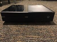 Xbox one 500gb console with 2 controllers