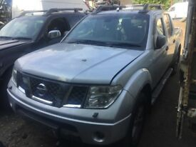 Nissan Navara 2.5 dCi Aventura Double Cab Pickup 4dr (06 - 07) breaking for parts