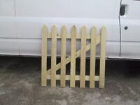 garden gate made to size and fitted