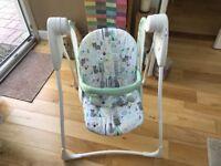 Grace baby swing chair