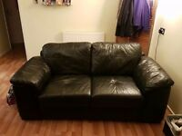 Two Leather Couches For Sale in Reading, Berkshire