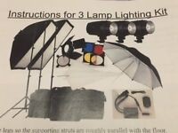 Photo Studio Strobe Lighting set