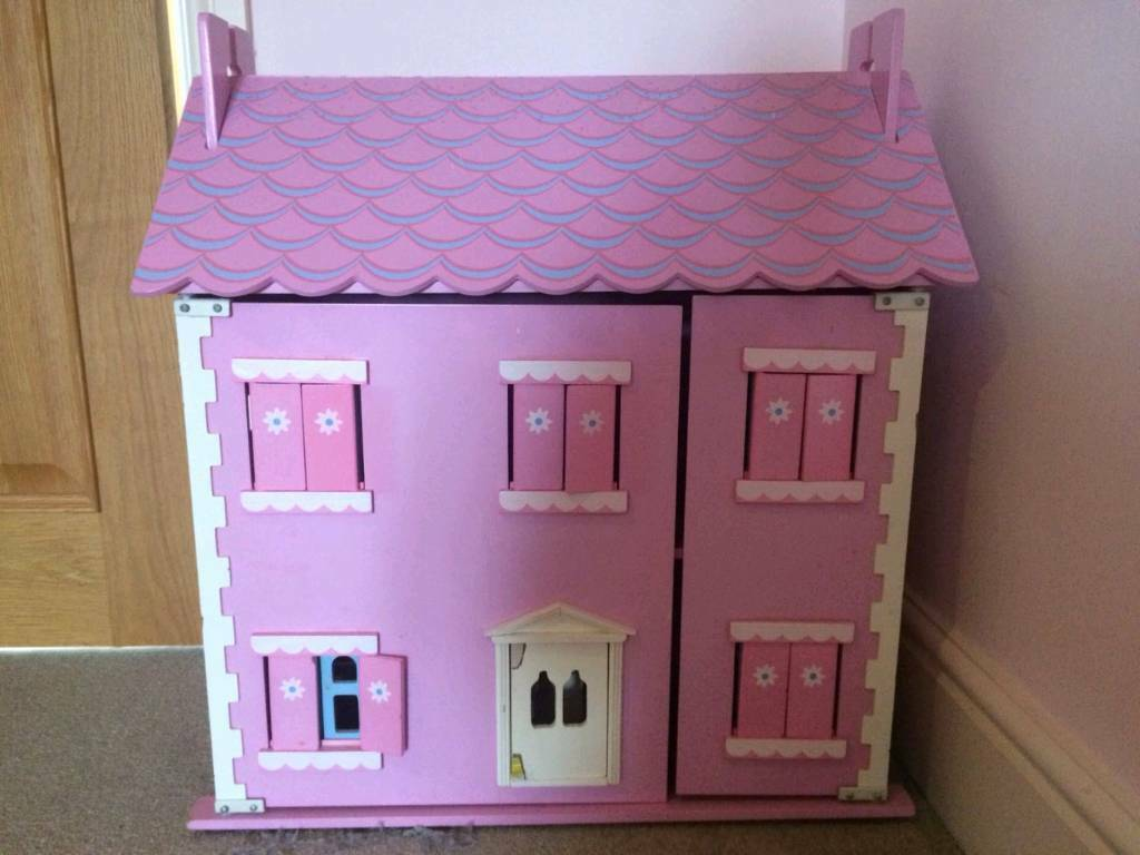 Pink Wooden Dollhouse In Penarth Vale Of Glamorgan Gumtree