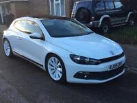 VW scirocco 2.0 Diesel Automatic White Bargain