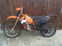 Ktm 525 exc racing 2005 road legal