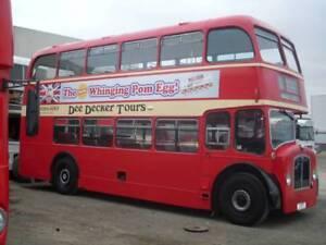 Bristol double decker bus