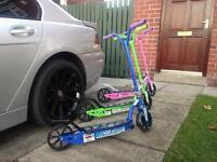 Kids Pro Kick Push glider scooters new