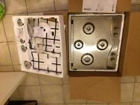 Brand New; Hotpoint 4 Burner Hob Set