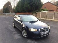 2007 AUDI A3 SPECIAL EDITION 1.9 TDI 5 DOOR HATCHBACK TAX & TESTED HPI CLEAR FSH ***BARGAIN***