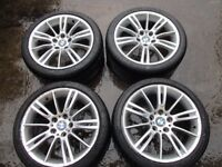 BMW 3 Series M Sport 18 Inch MV3 Alloy Wheels 8036933 8J / 8.5J Staggered