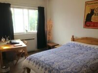 Big double bedroom for rent for July and August