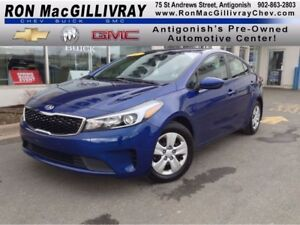 2017 Kia Forte LX..Manual..PWLM..$89 B/W Tax Inc..GM Certified