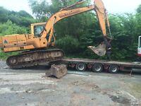 Excavator/digger 16 ton case 888b