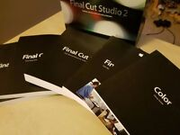 Final Cut Studio 2 - All the Manuals (Software Not Included)