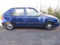 Skoda Felicia 1.3 5 Door Very Low Mileage Cheap Car Great Service History