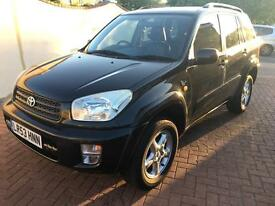 TOYOTA RAV 4 EXECUTIVE SPORTS WITH LEATHER