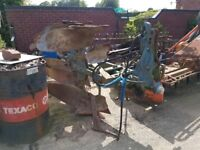 Ransomes (TSR 104) 3 furrow reversible plough