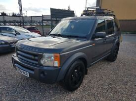 2006 Land Rover Discovery 2.7 TDV6 4x4 7 Seater off road tyres AUTOMATIC lovely car