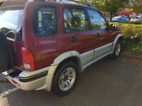 Suzuki Grand Vitara - 2 owners from new - new gearbox / clutch - alloy wheels
