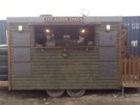 Catering van/trailer The Acorn Shack All Brand new used twice.