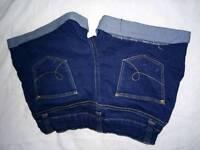 Jeans shorts age 7-8 each 2 pound